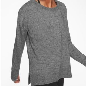 Athleta Coaster luxe sweatshirt xs